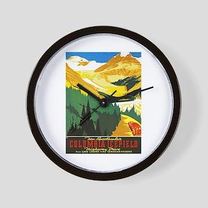 Canada Travel Poster 7 Wall Clock
