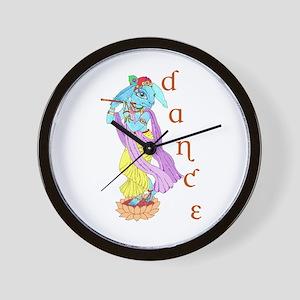 Hare Krishna Dance ! Wall Clock