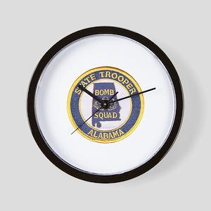 Alabama Bomb Squad Wall Clock