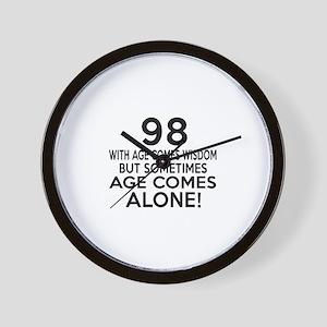 98 Awesome Birthday Designs Wall Clock