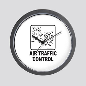 Air Traffic Control Wall Clock