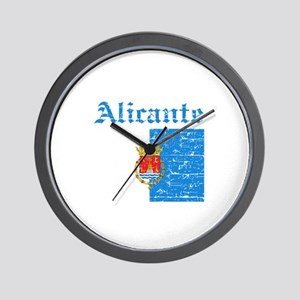 Alicante flag designs Wall Clock