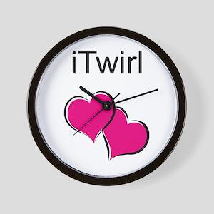 iTwirl Baton Wall Clock