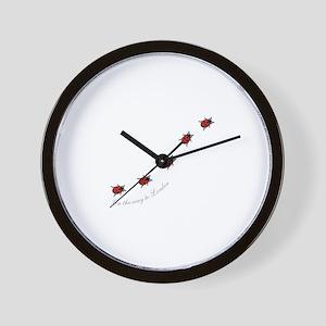 ladybird Wall Clock