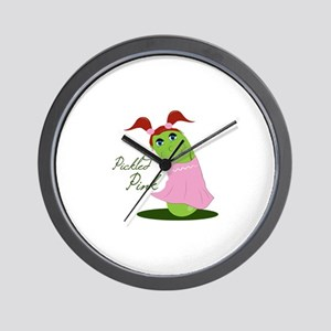 Pickled Pink Wall Clock