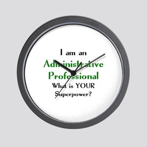 administrative professional Wall Clock