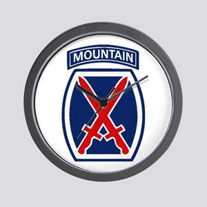10th Mountain Division Wall Clock
