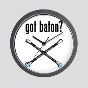 got Baton Wall Clock