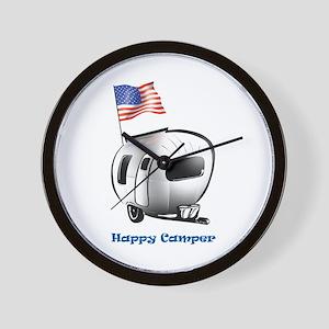 Happer Camper Wall Clock