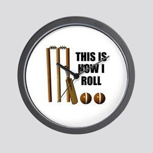 This Is How I Roll Cricket Wall Clock