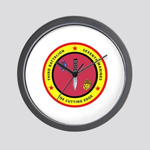 3rd Battalion 7th Marines Wall Clock