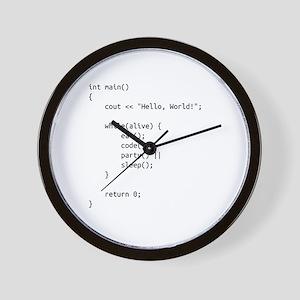 life.cpp Wall Clock