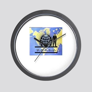 THE MAN FROM UNCLE Wall Clock
