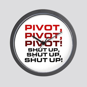 'Pivot!' Wall Clock
