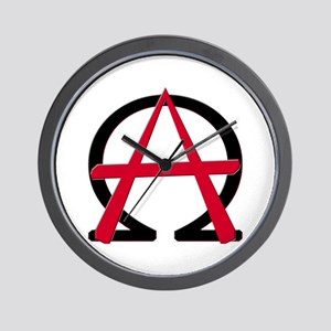 Christain Anarchy Wall Clock