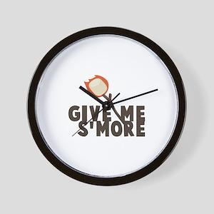 Give Me Smore Wall Clock