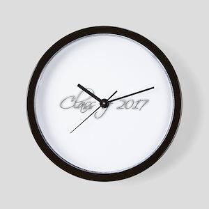 GRADUATION - Class of 2017 - script des Wall Clock