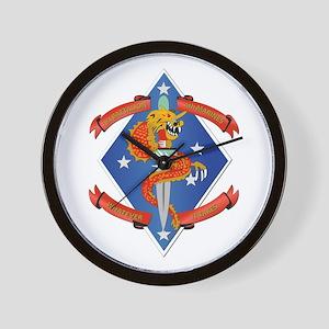 1st Bn - 4th Marines Wall Clock