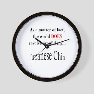 Chin World Wall Clock