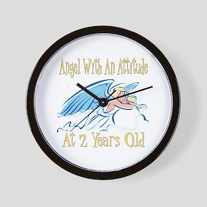 Angel Attitude 2nd Wall Clock
