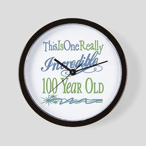 Incredible 100th Wall Clock