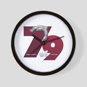 Seven of Nine Wall Clock