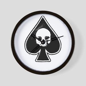 Ace of Spades Wall Clock