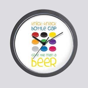 Knick-Knack Bottle Cap Give The Man A Beer Wall Cl
