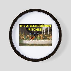 Easter - It's A Celebration B Wall Clock