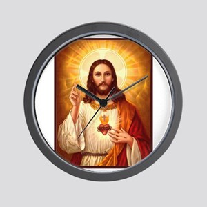 Sacred Heart of Jesus Wall Clock