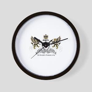 OSMTJ Logo on White Background Wall Clock