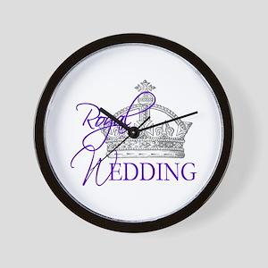 Royal Wedding London England Wall Clock