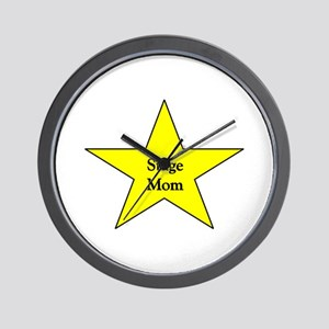 Stage Mom Wall Clock