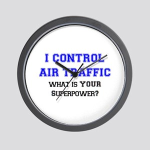 control air traffic Wall Clock