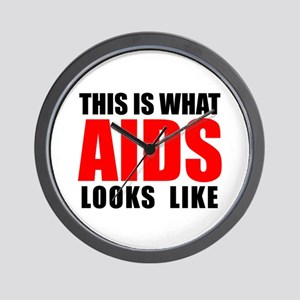 What AIDS looks like Wall Clock