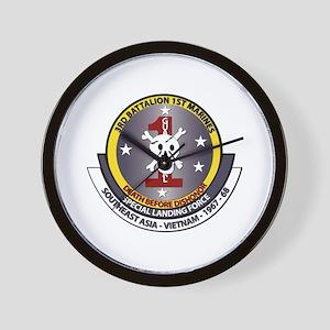 SSI - 3rd Battalion - 1st Marines USMC Wall Clock