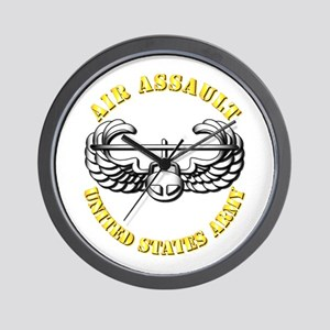 Emblem - Air Assault Wall Clock