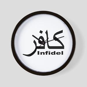 Infidel (1) Wall Clock