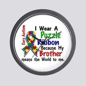 Means World To Me 4 Autism Wall Clock