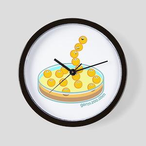 Petri Wall Clock