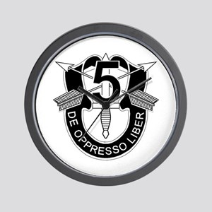 5th Special Forces - Dui - No Txt Wall Clock