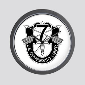 7th Special Forces - DUI - No Txt Wall Clock