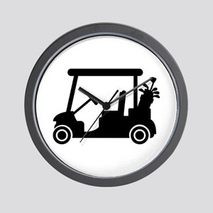Golf car Wall Clock