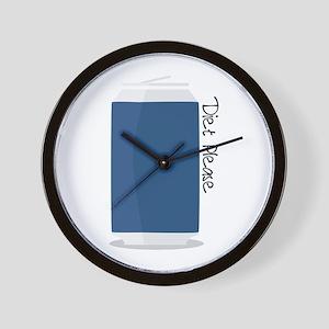 Diet Please Wall Clock