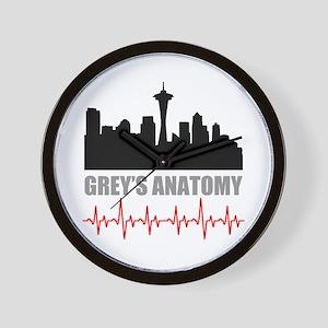 Grey's Anatomy Seatle Wall Clock
