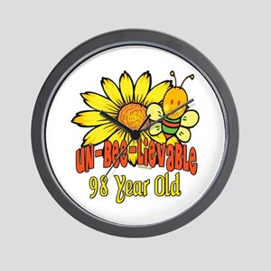 Un-Bee-Lievable 98th Wall Clock