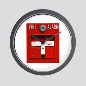 FIRE ALARM Wall Clock