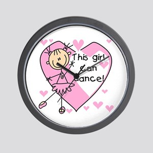 This Girl Can Dance Wall Clock