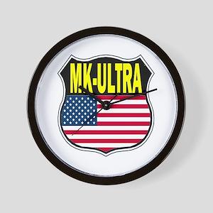 PROJECT MK ULTRA Wall Clock