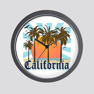 Vintage California Wall Clock